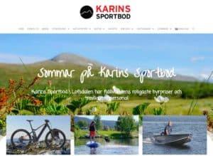 Karins Sportbod sommar 2020