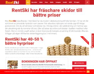 RentSki skiduthyrning 2019